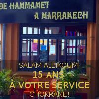 restaurant  'De hammamet à MArrakech' 44600- Saint Nazaire